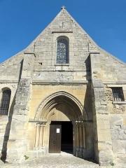 Eglise Saint-Clair - Français:   Façade occidentale.