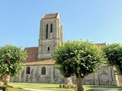 Eglise Saint-Clair - Français:   Vue depuis le nord.