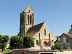 Eglise Saint-Clair - Français:   Vue depuis le nord-ouest.