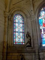 Eglise Saint-Clair - Français:   Fenêtre nord-est de l\'abside.