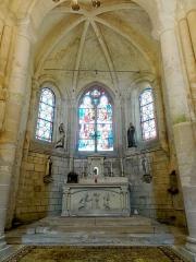 Eglise Saint-Clair - Français:   Abside.