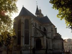 Eglise Saint-Martin -  Chevet de l'église saint-Martin à L'Isle-Adam (Val-d'Oise)