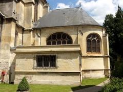 Eglise Saint-Martin - Français:   Chapelle de la Vierge.