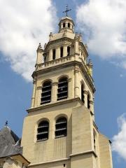 Eglise Saint-Martin - Français:   Clocher, côté sud-ouest.