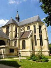 Eglise Saint-Martin - Français:   Croisillon sud et chœur.
