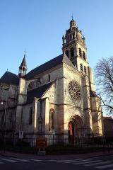 Eglise Saint-Martin -  église Saint-Martin, L'Isle-Adam