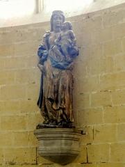 Eglise Saint-Martin - Français:   Chapelle de la Vierge, statue de la Vierge à l\'Enfant.