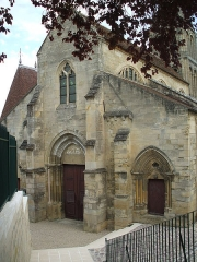 Eglise Notre-Dame - English: Church of jouy le moutier