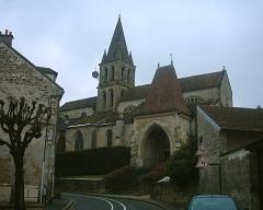 Eglise Notre-Dame -  Eglise Notre Dame, Jouy-le-Moutier on 03/03/06.