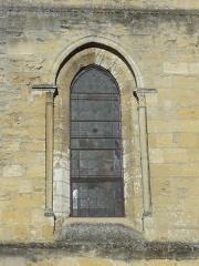 Eglise Notre-Dame -  Fenêtre orientale du collatéral sud du choeur.