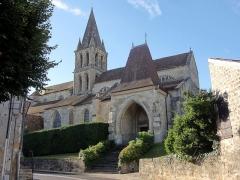 Eglise Notre-Dame -  Vue depuis le nord.