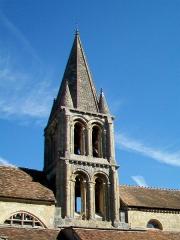 Eglise Notre-Dame - Français:   Le clocher, côté sud.