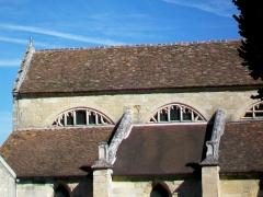 Eglise Notre-Dame - Français:   Façade sud de la nef.