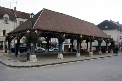 Halle -  La Halle, Luzarches, Val-d'Oise, France