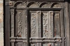 Eglise - Deutsch: Tür der Kirche Notre-Dame-de-la-Nativité in Magny-en-Vexin
