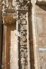 Eglise - Deutsch: Renaissancefassade der Kirche Notre-Dame-de-la-Nativité in Magny-en-Vexin