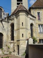 Eglise et chapelle funéraire - Français:   Voir titre.