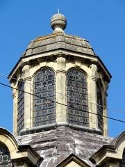 Eglise et chapelle funéraire - Français:   Lanternon de la chapelle.
