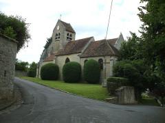 Eglise - English: Noisy sur oise Church