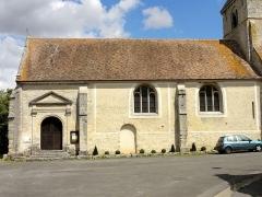 Eglise Saint-Martin - Église Saint-Martin d'Omerville (voir titre).