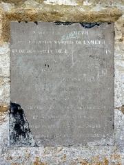 Colonne de Réal - Français:   Colonne de Réal à Osny.