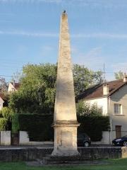 Colonne de Réal - Français:   Colonne du Réal.