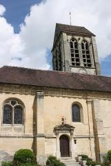 Eglise de Jouy-le-Comte - Deutsch: Katholische Kirche Saint-Denis in Jouy-le-Comte, einem Ortsteil von Parmain (Département Val-d'Oise) in der Region Île-de-France (Frankreich)