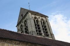 Eglise de Jouy-le-Comte - Deutsch: Katholische Kirche Saint-Denis in Jouy-le-Comte, einem Ortsteil von Parmain (Département Val-d'Oise) in der Region Île-de-France (Frankreich), Glockenturm