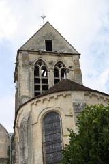 Eglise de Jouy-le-Comte - Deutsch: Katholische Kirche Saint-Denis in Jouy-le-Comte, einem Ortsteil von Parmain (Département Val-d'Oise) in der Region Île-de-France (Frankreich), Apsis