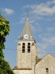 Eglise Sainte-Geneviève -  Clocher.