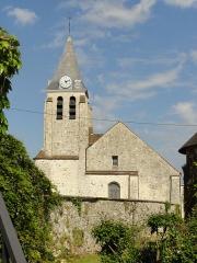 Eglise Sainte-Geneviève -  Façade occidentale.