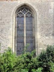 Eglise Saint-Clair - Français:   Fenêtre occidentale du collatéral sud.