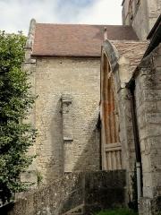 Eglise Saint-Clair - Français:   Croisillon nord, côté ouest.