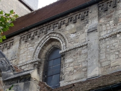 Eglise Saint-Clair - Français:   Troisième travée de la nef, côté nord.