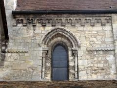 Eglise Saint-Clair - Français:   Quatrième travée de la nef, côté nord.