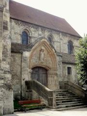 Eglise Saint-Clair - Français:   Nef, côté nord.