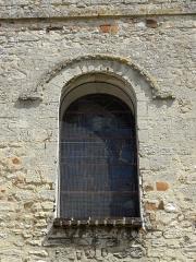 Eglise Saint-Clair - Français:   Fenêtre occidentale de la nef.