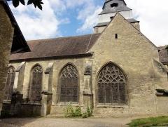 Eglise Saint-Clair - Français:   Vue depuis le sud.