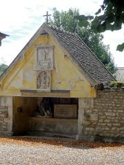 Ermitage de Saint-Clair - Français:   Ermitage de Saint-Clair - oratoire à l\'emplacement de son ancienne cellule.