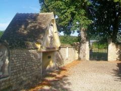 Ermitage de Saint-Clair - Français:   L\'Ermitage: l\'oratoire faisant face à la chapelle.