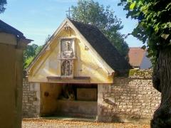Ermitage de Saint-Clair - Français:   L\'oratoire faisant face à la chapelle.