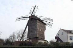 Moulin à vent dit Moulin Trouillet -  Moulin de Sannois - Val-d'Oise (France)