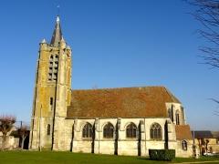 Eglise - Vue depuis le sud.