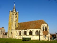 Eglise - Vue depuis le sud-est.