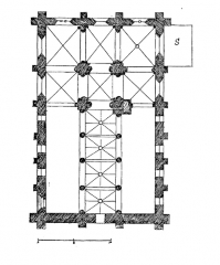 Eglise Notre-Dame -  Plan de l'église.