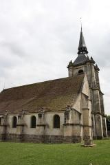 Eglise - Deutsch: katholische Pfarrkirche Saint-Denys in Le Thillay