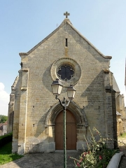 Eglise -  Façade occidentale.