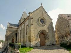 Eglise -  Façade occidentale.