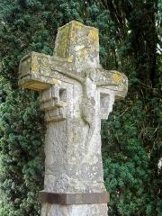 Croix -  Ancienne croix de cimetière de Vauréal.