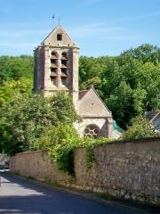 Eglise - Français:   Église Notre-Dame-de-l\'Assomption, façade sud, vue depuis la rue de l\'Église.